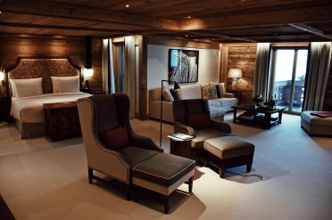 The Alpina Gstaad, Grand Luxe Suite