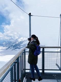 Jungfraujoch - Top of Europe, Sphinx Terrace