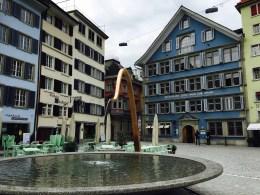 Fraumünster square, Zurich, Switzerland