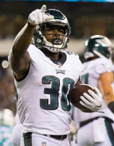 Corey clement rb philadelphia eagles also fantasy football sleepers for week rh numberfire