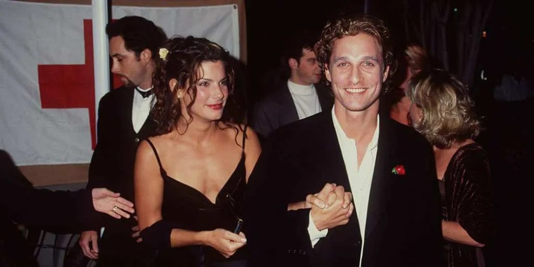 Sandra Bullock and Matthew McConaughey