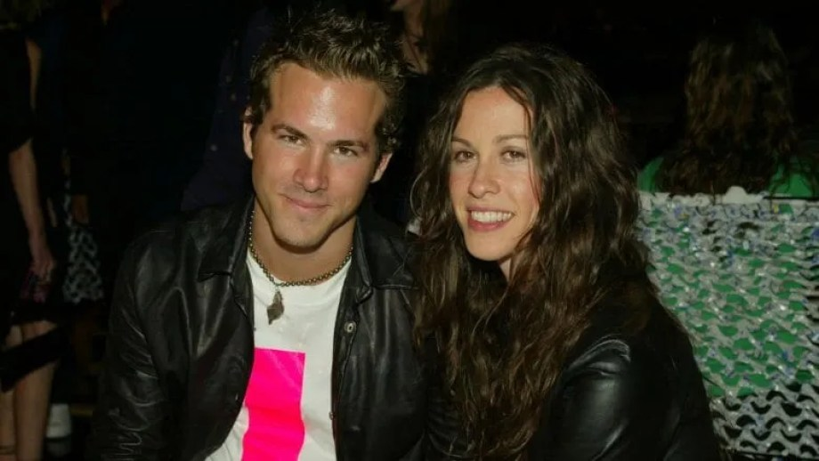 Ryan Reynolds and Alanis Morissette
