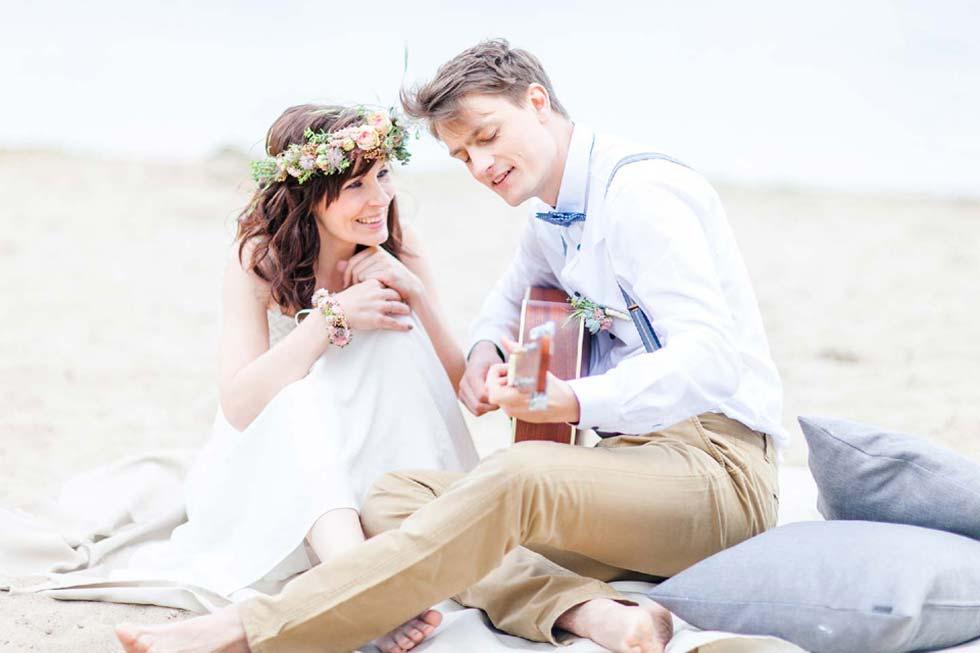Romantische Zweisamkeit am Alwarmbchener See  Hochzeitswahn  Sei inspiriert