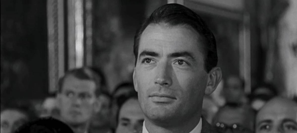 Gregory Peck is proof that nice guys actually do win
