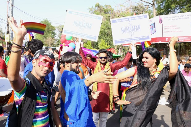 Participants danced on the streets and shouted slogans. It was a celebration.