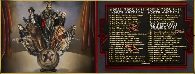 Avatar Tour Dates