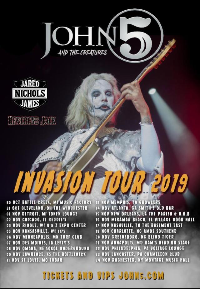 Invasion Tour 2019