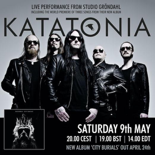 Katatonia Live Stream