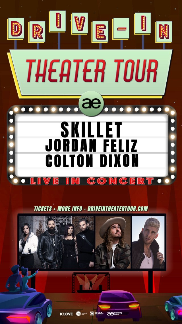 Skillet Drive In Tour 2021