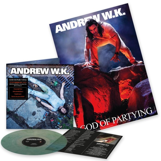 Andrew WK God is Partying