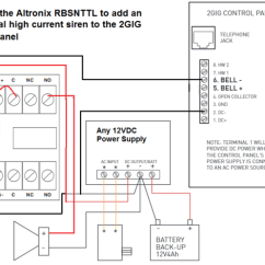 Honeywell Zone Control Wiring Diagram Humpback Whale Skeleton How Do I Add A Wired Siren To Go!control 2? - Alarm Grid