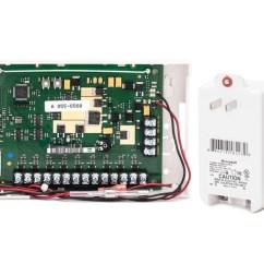 Alarm System Wiring Diagram Led Tailgate Light Bar Honeywell 5800c2w - Hardwire To Wireless 9-zone Conversion Module Grid