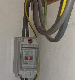 the dno engineer only had to check the cables between the meter box and this separate main switch whenever my electrician and i needed to do further work  [ 740 x 1223 Pixel ]