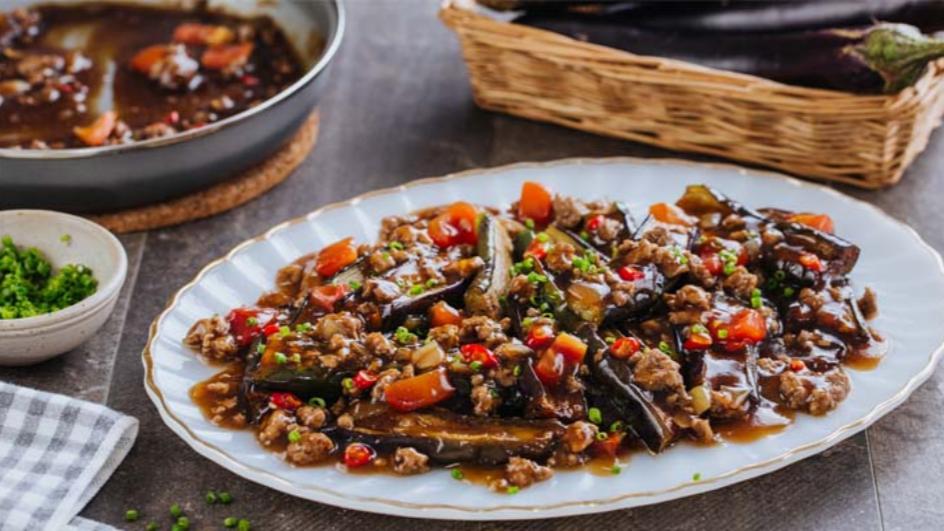 Minced Pork with Eggplant | Maggi
