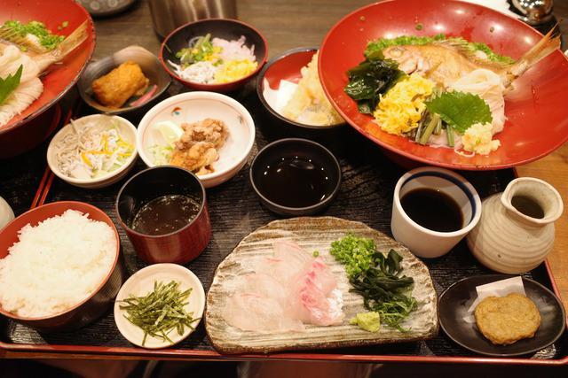【愛媛】鯛そうめんや鯛めしなど地元の郷土料理が楽しめる老舗店「五志喜 本店」 - 食べあるキング