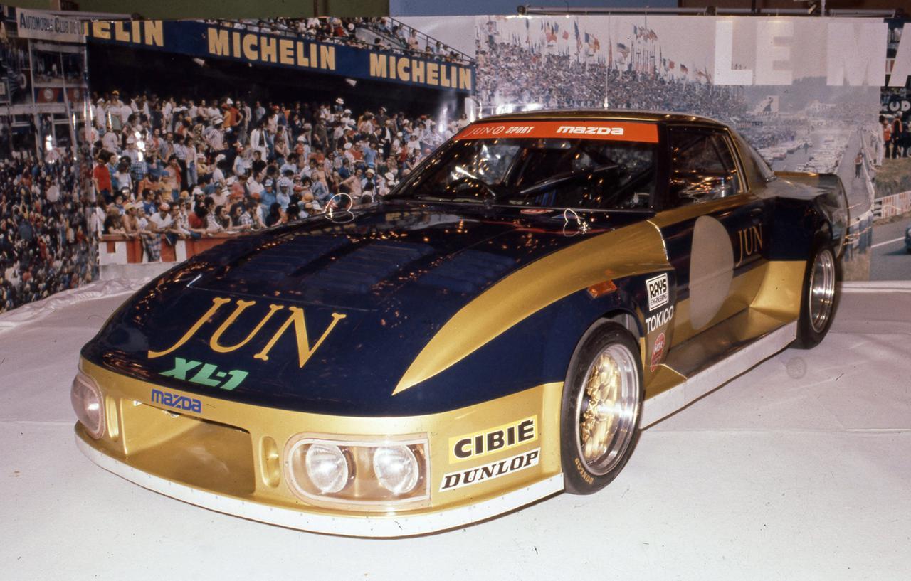 画像: 1981年にル・マン24時間に参戦した「マツダRX−7 253」。300psまでチューンされていたが、それでもライバル車と比べると非力であったことは否めまなかった。