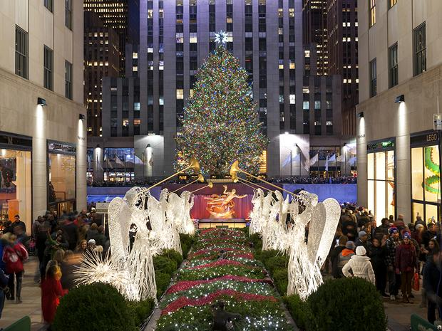 The Christmas Angels  Front  Center at Rockefeller Center