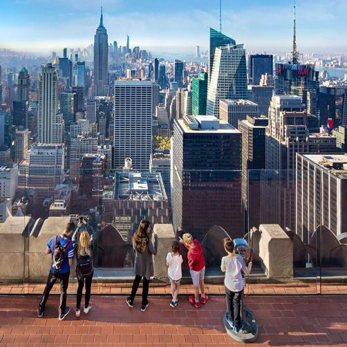 Image result for Top of the Rock