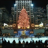 Rockefeller Center Christmas Tree Lighting | Rockefeller ...