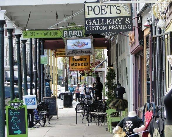 Things to do in New Orleans: Shop in Magazine Street