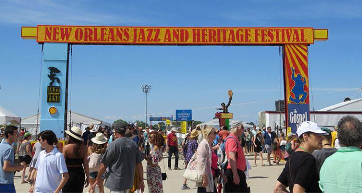 Things to do in New Orleans; see Jazz Fest