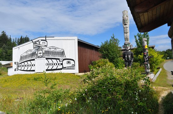 The U'mista Cultural Centre in Alert Bay, British Columbia was founded by the Kwakwaka'wakw people to house the repatriated masks from the Cranmer Potlatch.