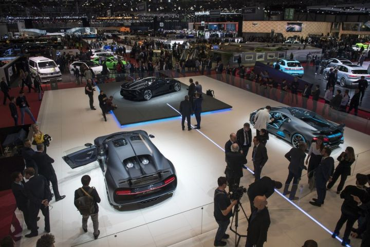 The Geneva Motor Show of 2019.
