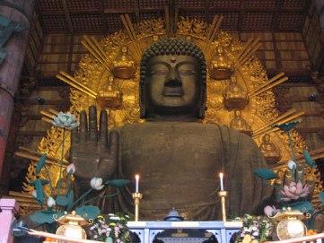 Great Buddha at Todaiji Temple.