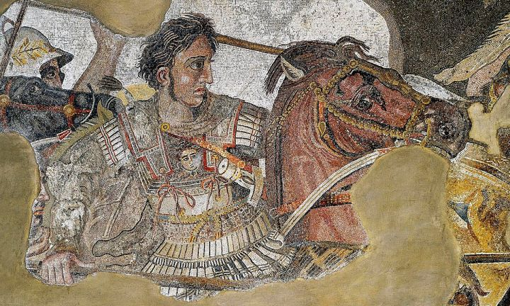 Alexander the Great and his horse
