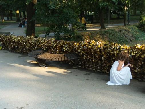 The Bridge of Love today, Serbia