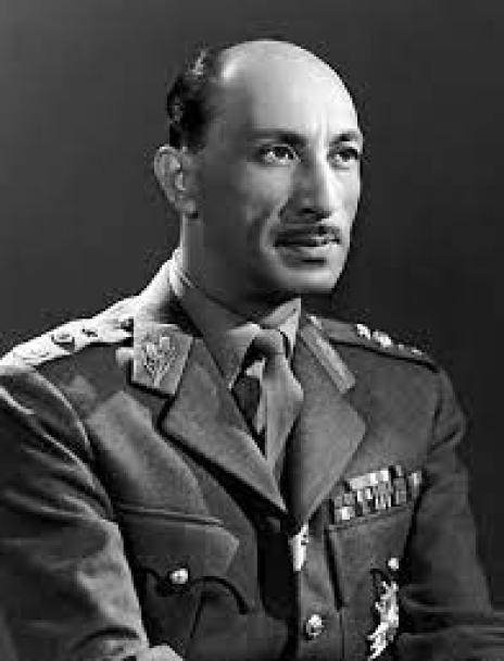 Mohammad Zahir Shah, a portrait