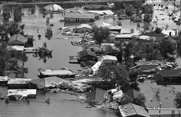 Hurricane Camille Devastation
