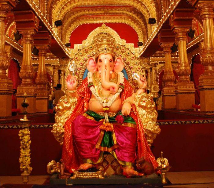 Lord Ganesh in Pandal