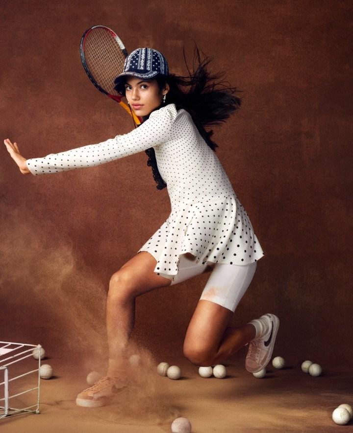 Emma Raducanu in a Vogue Photoshoot