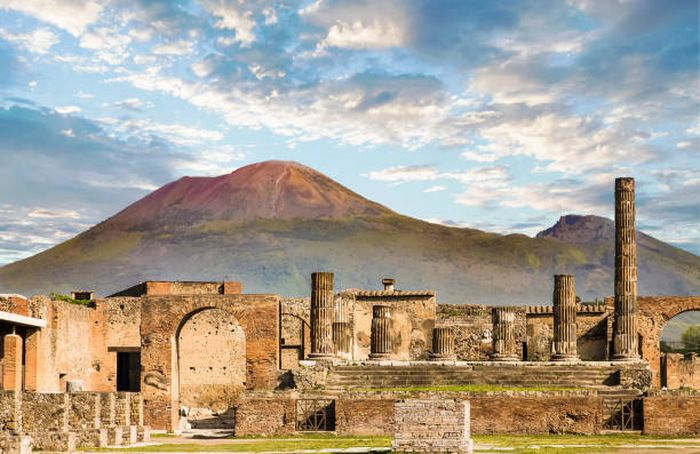 Archaeological Findings Pompeii