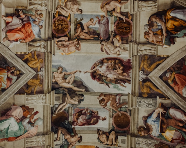 Ceiling of the Sistine Chapel