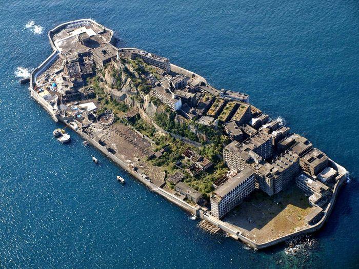 Hashima Island Ghost Town Japan