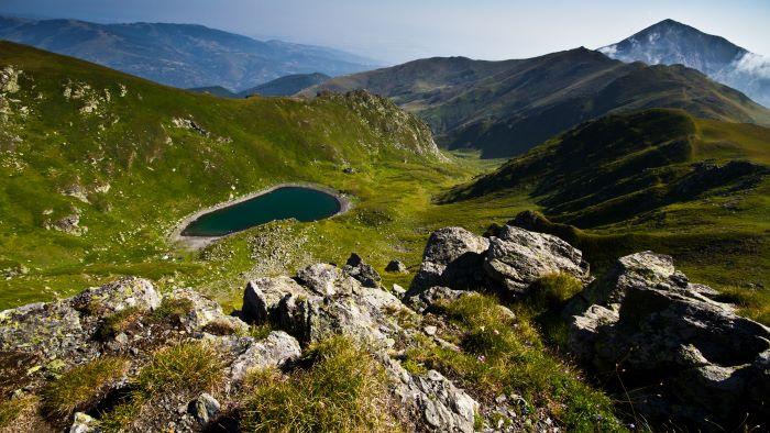 Šar mountain with its highest peak Ljuboten