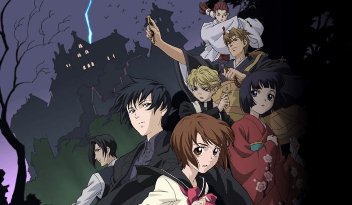 Characters from the anime - Ghost Hunt