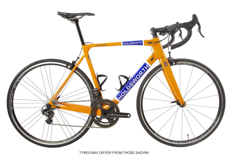 Holdsworth Super Professional Super Record EPS Road Bike / Medium 54cm / Team Orange / Calima Wheelset - Ex Team | On - One