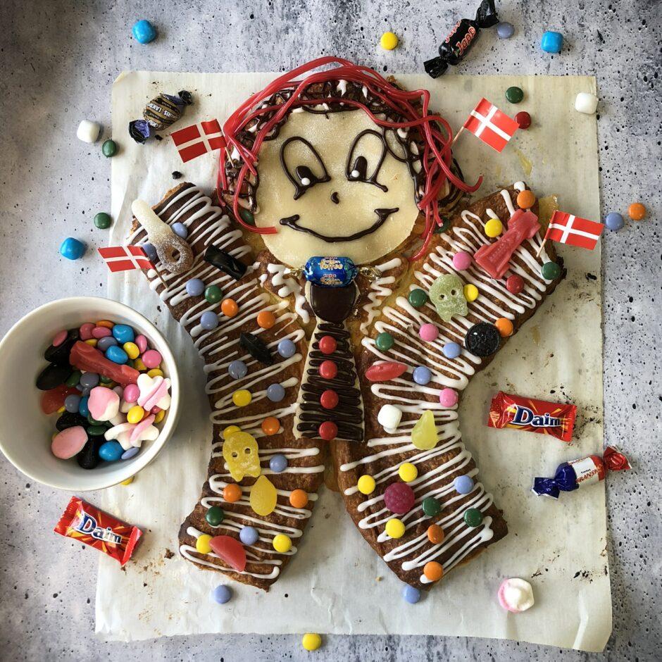 Recipe Kagemand Danish Kids Birthday Cake Man Scandikitchen