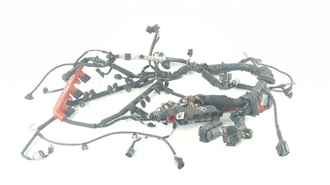Engine Wiring Harness OEM 2009 Audi A5 Quattro Coupe AWD 3