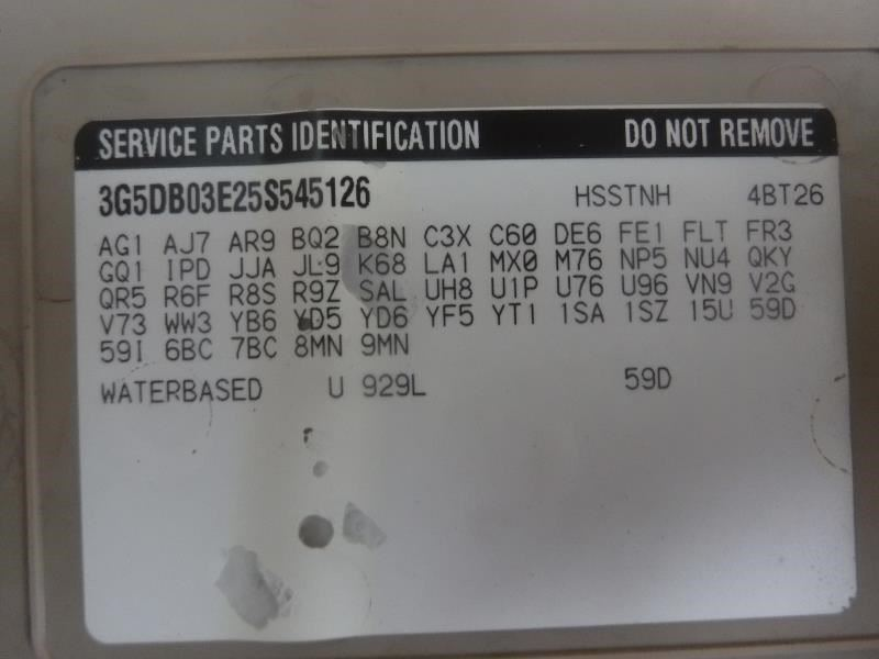 2005 Buick Rendezvous CX Caliper 15804879 | eBay