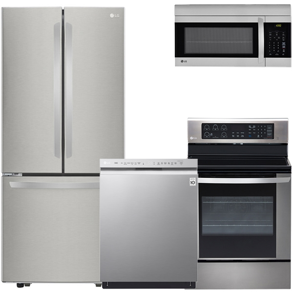 lg kitchen appliance packages samsung package ge frigidaire appliances bosch 4 piece stainless steel french door