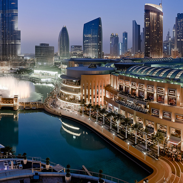 The Dubai Mall Dubai Hotel  Central Hotels near Dubai center