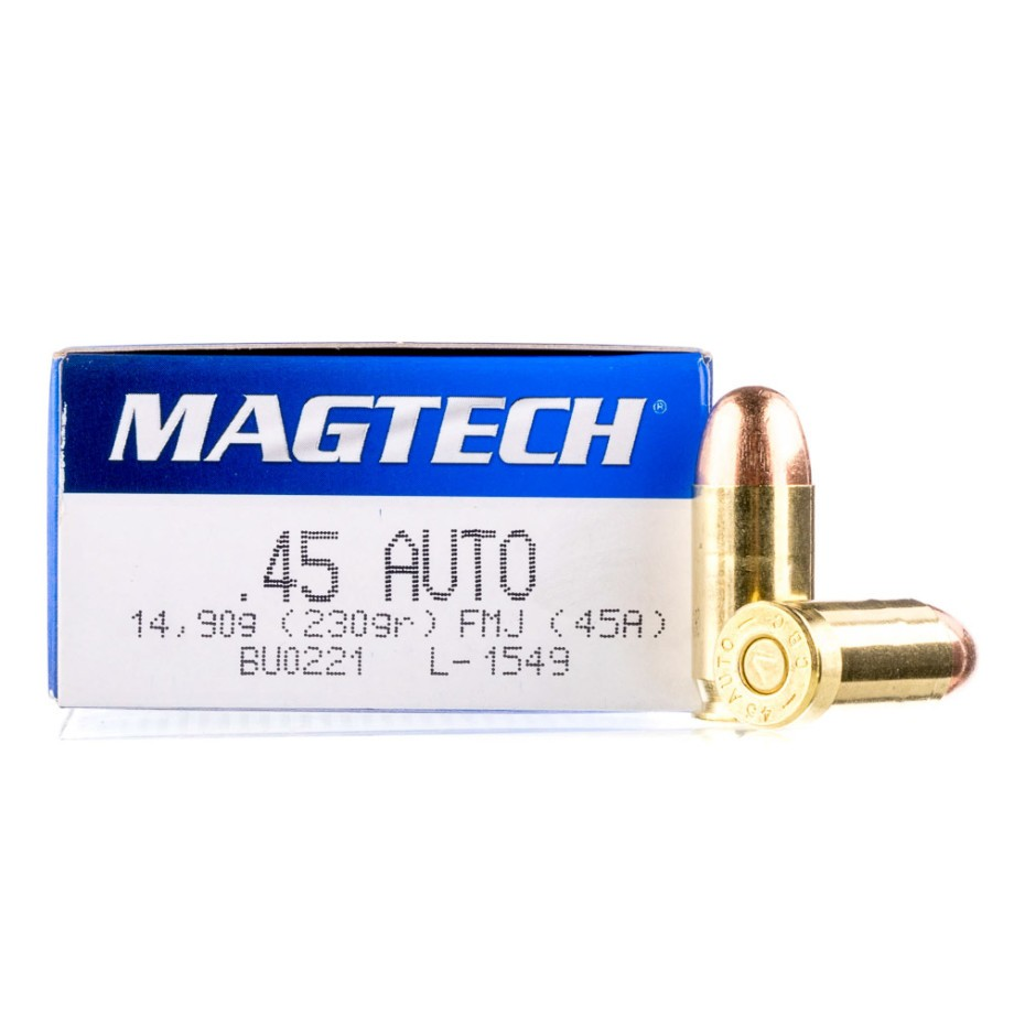 hight resolution of 45 auto handgun ammo from magtech for sale