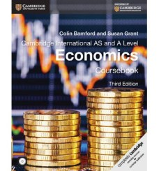 Image result for Cambridge International AS and A Level Economics Coursebook Third Edition by Colin Bamford and Susan Grant