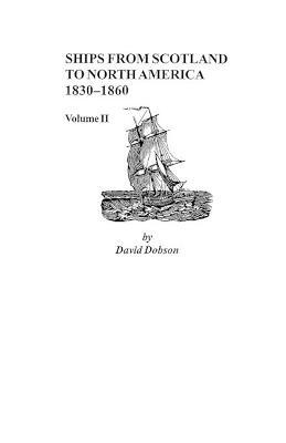 Ships from Scotland to North America, 1830-1860 : Dobson
