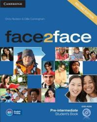 Bilderesultat for face2face pre-intermediate books