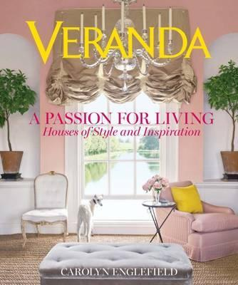 veranda living rooms decorating room dark brown leather sofa a passion for carolyn englefield 9781618371355